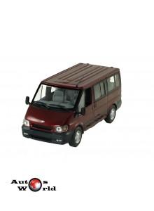 Macheta auto Ford Transit Tourneo bus 2001 visiniu, 1:43 Minichamps