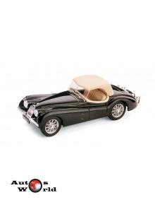 Macheta auto Jaguar XK120 Drop Head 1948 negru, 1:43 Brumm