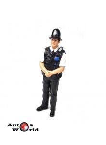 Figurina Politist UK, 1:18 American Diorama