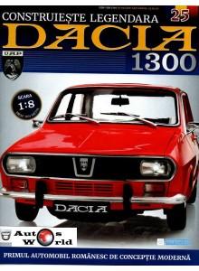 Macheta auto Dacia 1300 KIT Nr.25 - elemente roata, scara 1:8 Eaglemoss