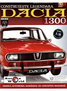 Macheta auto Dacia 1300 KIT Nr.15 - roata fata, scara 1:8 Eaglemoss
