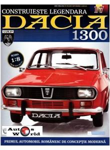 Macheta auto Dacia 1300 KIT Nr.17 - accesorii cutie viteza, scara 1:8 Eaglemoss