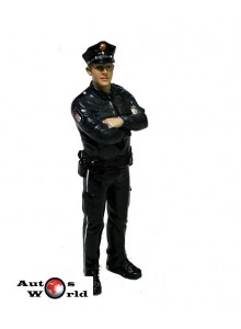 Figurina Politist Germania, 1:18 American Diorama