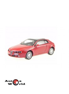 Macheta auto Alfa Romeo Brera rosu, 1:72 Cararama