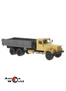 Macheta camion KrAZ 257B1 crem, 1:43 Auto Historia