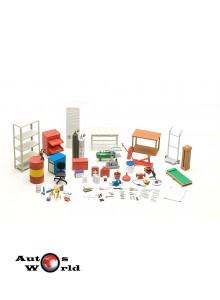 Accesorii: Garage kit set complet, 1:18 Autoart  ...