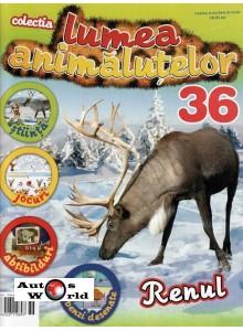 Lumea Animalutelor Nr.36 - Renul, Amercom