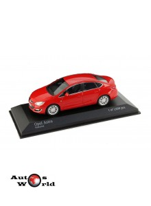 Macheta auto Opel Astra J 2012 rosu, 1:43 Minichamps