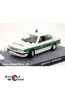 BMW 518 Polizei James Bond, 1:43 Eaglemoss
