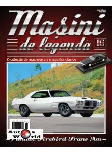Masini De Legenda Nr.16 - Macheta auto Pontiac Firebird 1969, 1:43 Amercom