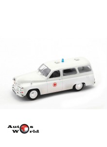Macheta auto Warszawa 202A ambulance, 1:43 Deagostini/Ixo