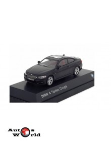 Macheta auto BMW 4 Series Coupe (F32) 2013 negru, 1:43 Paragon