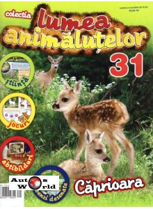 Lumea Animalutelor Nr.31 - Caprioara, Amercom