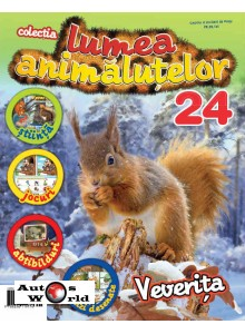 Lumea Animalutelor Nr.24 - Veverita, Amercom