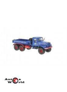 Macheta camion KrAZ 255V1 B.T albastru, 1:43 Special Co