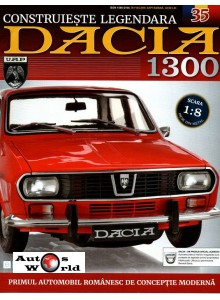 Macheta auto Dacia 1300 KIT Nr.35 - elemente bord part 3, scara 1:8 Eaglemoss