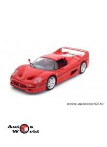 Ferrari F50 rosu, 1:18 Bburago
