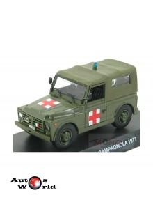 Macheta auto Fiat Nuova Campagnola ambulance 1977, 1:43 Deagostini