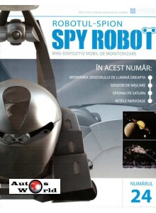 Colectia Spy Robot Nr 24 Kit de asamblat, Eaglemoss