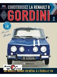 Macheta auto Renault 8 Gordini KIT Nr.2, scara 1:8 Eaglemoss