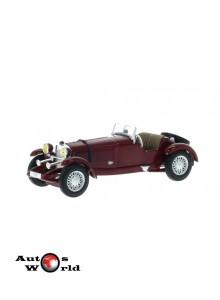 Macheta auto Mercedes SSK rosu 1928, 1:43 Whitebox