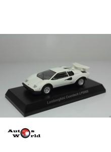 Lamborghini Countach LP500S alb, 1:64 Kyosho