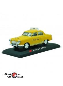Taxiuri din lumea toata nr.8 - Gaz M-21 - Moscova 1955, 1:43 Amercom