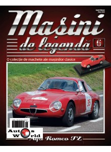 Masini De Legenda Nr. 6 - Macheta auto Alfa Romeo Tz 1964, 1:43 Amercom