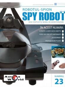 Colectia Spy Robot Nr 23 Kit de asamblat, Eaglemoss