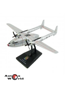 Macheta Avion Fairchild C119G 2Nd Gruppo 46Th Trasporti Aerobr. 1:200