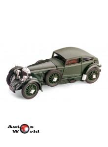 Macheta auto Bentley Speed Six verde 1928, 1:43 Brumm