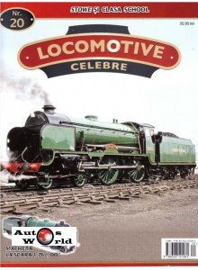 Locomotive Celebre Nr.20 - Stowe clasa School, 1:76 Amercom