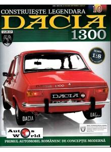 Macheta auto Dacia 1300 KIT Nr.10 - lonjeron dreapta fata, scara 1:8 Eaglemoss