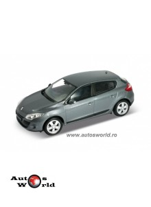 Renault Megane 2009, 1:24 Welly