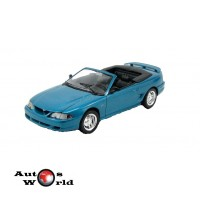 Macheta auto Ford Mustang GT convertible albastru, 1:18 Jouef Evolution ...
