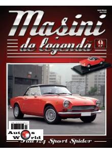 Masini De Legenda Nr. 9 - Macheta auto Fiat 124 Sport Spider 1967, 1:43 Amercom