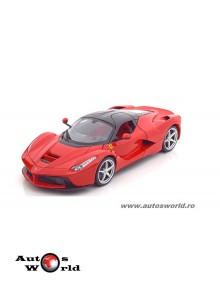 Macheta auto Ferrari LaFerrari rosu, 1:18 Bburago