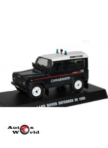 Macheta auto Land Rover Defender 90 Carabinieri 1995, 1:43 Deagostini
