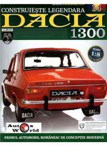 Macheta auto Dacia 1300 KIT Nr.14 - sasiu median, scara 1:8 Eaglemoss