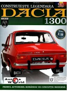 Macheta auto Dacia 1300 KIT Nr.38 - podea scara 1:8 Eaglemoss