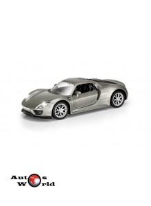 Macheta auto Porsche 918 gri  5 inch, 1:32-36 RMZ City ...