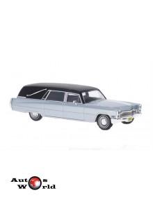 Macheta auto Cadillac Hearse Funeral 1966, 1:43 Whitebox