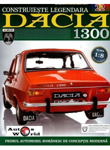 Macheta auto Dacia 1300 KIT Nr.22 - radiator motor, scara 1:8 Eaglemoss