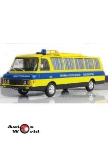 ZIL 118KL Bus Police Criminal Lab, 1:43 Deagostini RU