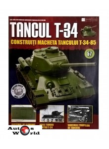 Colectia Tancul Т-34 Nr.57, 1:16 macheta kit de asamblat, Eaglemoss