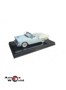 Macheta auto Chevrolet Bel Air albastru/crem 1955, 1:43 Vitesse