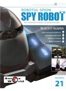 Colectia Spy Robot Nr 21 Kit de asamblat, Eaglemoss