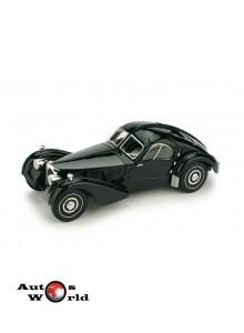 Macheta auto Bugatti 57SC Atlantic 1938 negru, 1:43 Brumm