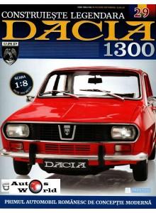 Macheta auto Dacia 1300 KIT Nr.29 - elemente pasaj roata spate, scara 1:8 Eaglemoss