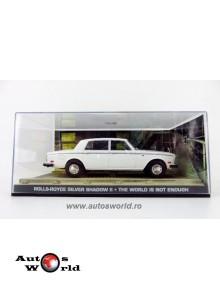 Rolls Royce Silver Shadow II alb James Bond, 1:43 Eaglemoss